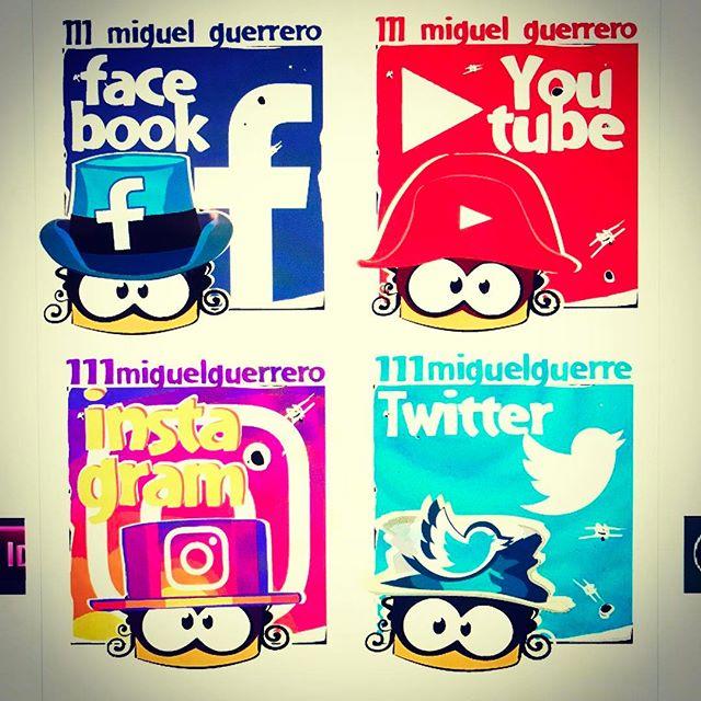 Nuevos #personajes para #guiar el #destino de los visitantes a miguelguerrero.com. Pronto en las #redes !. New #characters coming soon... miguelguerrero.com